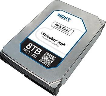 HGST(エイチ・ジー・エス・ティー) Ultrastar He8 3.5inch 8TB 128MBキャッシュ 7200rpm SATA 6Gb/s HUH728080ALE600