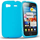 Phonedirectonline- Sky blue silicone case cover for htc sensation xe