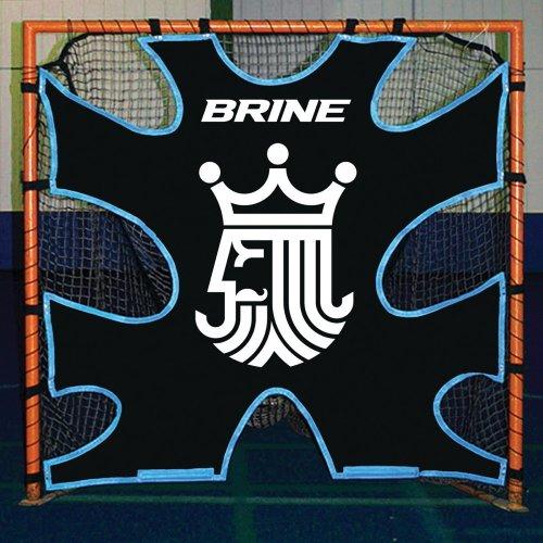 Brine Lacrosse Shot Trainer-Fits on 6 x 6-Feet Goals (Black)