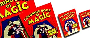 Original Magic Coloring Book Trick - Large