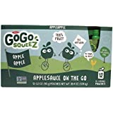 Gogo Apple Apple Squeeze Applesauce on the Go 12 Re-sealable 3.2 Oz Pouches