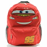Small Backpack - Disney - Cars - Lightning Mcqueen Face