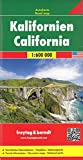 Freytag Berndt Autokarten, Kalifornien - Maßstab 1:600.000 (freytag & berndt Auto + Freizeitkarten)