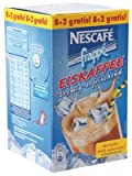 NESCAFE FRAPPE ICE COFFEE 600 GRAMS (3 PACKAGES WITH EACH 10 x 20 GRAMS) German EDITION