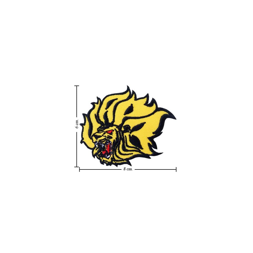 Arkansas Pine Bluff Golden Lions Logo Embroidered Iron on Patches