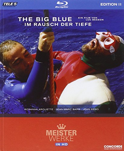 The Big Blue - Im Rausch der Tiefe - Meisterwerke in HD Edition 2/Teil 10 [Blu-ray]
