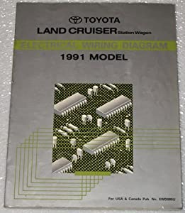 1991 Toyota Land Cruiser Electrical Wiring Diagram (FJ80 Series