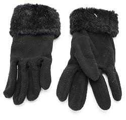 True Gear Women's Winter Gloves (Black)
