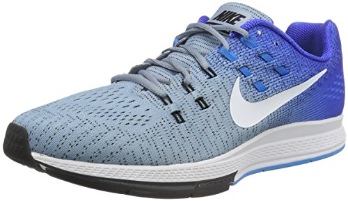 Nike Air Zoom Structure 19, Scarpe Running Uomo, Blu (Blue Grey/White-Racer Blue-Blue Glow), 44