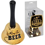 Ring For Beer Bell Party Joke Gag In Gift Box With Poem