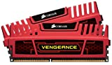 Corsair CMZ8GX3M2A1600C8R Vengeance 8GB (2x4GB) DDR3 1600 Mhz CL8 XMP Performance Desktop Memory Kit Red
