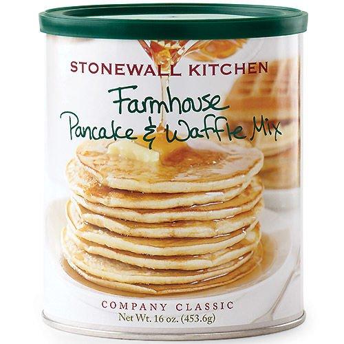 Stonewall Kitchen Farmhouse Pancake and Waffle Mix, 16 Ounce Can (Stonewall Kitchen Pancake Mix compare prices)