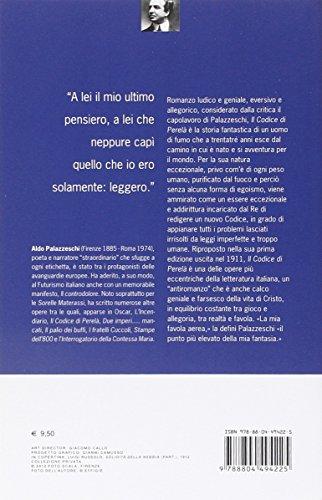 Libro il codice di perel di aldo palazzeschi for Codice promozionale amazon libri scolastici