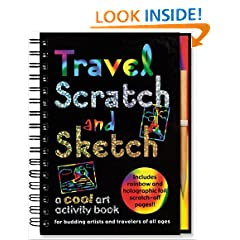 Travel Scratch and Sketch: A Cool Art Activity Book for Budding Artists and Travelers of All Ages (Activity Journal Series)