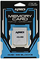 KMD Nintendo Wii Gamecube Komodo Memory Card 4MB (59 Blocks)