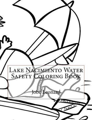 Lake Nacimiento Water Safety Coloring Book