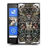 Head Case King Coloured Animal Skulls Hard Back Case Cover For Nokia Lumia 520