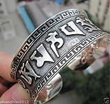 #9: NEW TIBET SILVER lucky Tibetan words Bracelet Free shipping