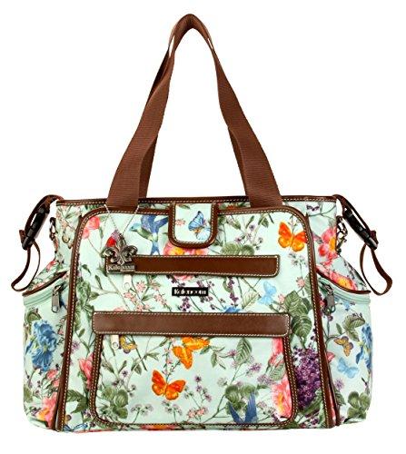 Kalencom Nola Tote Diaper Bag (Springtime)