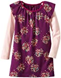 Tea Collection Girls 7-16 Flutter Sleeve Layer Dress Hyacinth