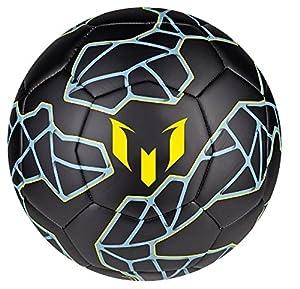 Amazon.com : Adidas Performance Messi Soccer Ball Size 5 (black