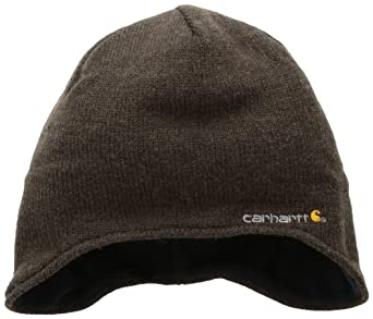 Carhartt Men's Northern Ear Flap Hat, Brown Heather, One Size