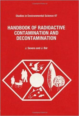 Handbook of Radioactive Contamination and Decontamination (Studies in Environmental Science)