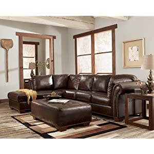 Leather sectional sofas marlo mahogany left corner chaise for Marlo furniture sectional sofa