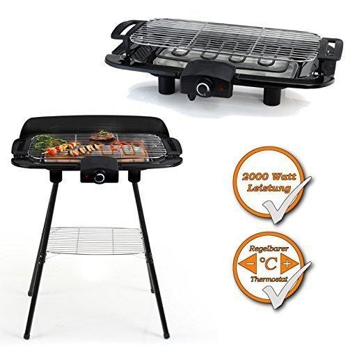 2in1-Barbecue-Grill-Stand-und-Tischgrill-in-einem-2000Watt-Leistung-regelbarer-Thermostat-schwarz