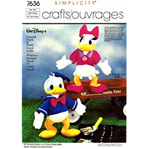 Free Craft Patterns and Templates - Duck Pattern