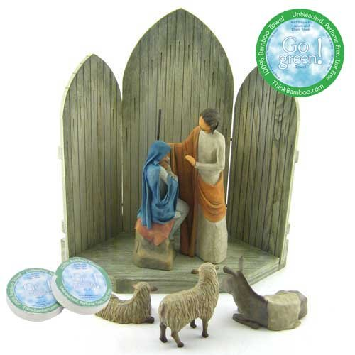 Willow Tree 6 Piece Christmas Story Nativity