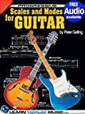 img - for Lead Guitar Lessons - Guitar Scales and Modes: Teach Yourself How to Play Guitar (Free Audio Available) (Progressive) book / textbook / text book
