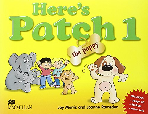 Here's Patch the Puppy 1 + CD: Pupil's Book with Songs Audio-CD: Level 1