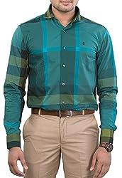 Unkonventional Men's Casual Shirt (unkchkgrezzm_Multicolor_38)