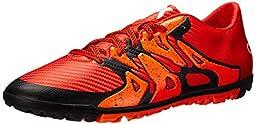 adidas Performance Men\'s X 15.3 TF Soccer Shoe,Bold Orange/White/Solar Orange,11 M US