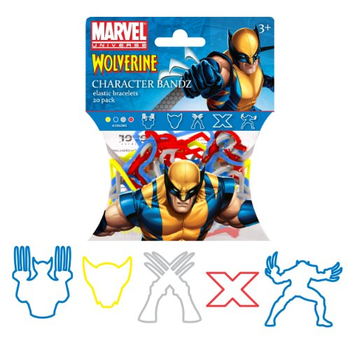 : Forever Collectibles Marvel Comics Wolverine Logo Bandz