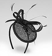 Bow & Feather Fascinator Headband