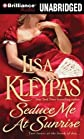 Seduce Me at Sunrise (Hathaway Series) [MP3 CD]