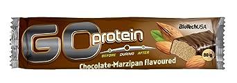 Biotech USA Go Protein Bar, 21 Riegel je 80g , Vanille-Kokos
