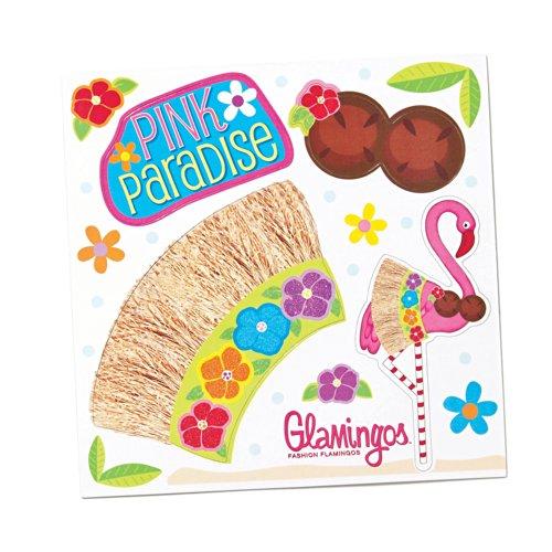 Silvestri Glamingo Flamingo Tropical Costume Magnet Sheet - 1