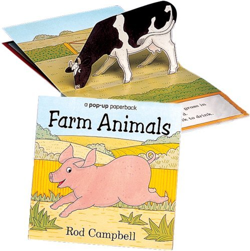 Farm Animals: a pop-up paperback by Rod Campbell