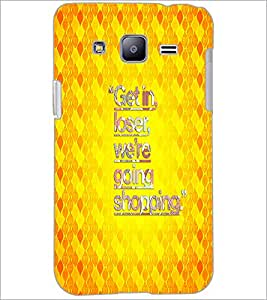 PrintDhaba Quote D-4363 Back Case Cover for SAMSUNG GALAXY J2 (Multi-Coloured)