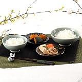 300年以上続く 伝統工芸 大堀相馬焼〈 飯椀・ペアセット 〉   KACHI-UMAプロジェクト(主催ガッチ)・福島県