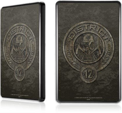 Skinit The Hunger Games -District 12 Stone Logo for LeNu Case for Amazon Kindle Fire