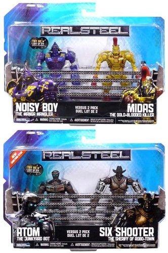 Real Steel Figure 2 Pack Series 2 Set Of 4