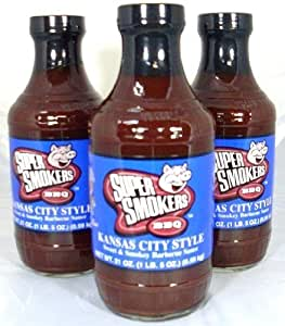 ... Kansas City Style BBQ Sauce : Barbecue Sauces : Grocery & Gourmet Food