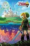 GB eye Nintendo Zelda A Link Between Maxi Poster, Multi-Colour
