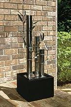 Contemporary Metal Bamboo Fountain