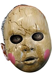 Disguise Costumes Baby Doll Mask, Adult