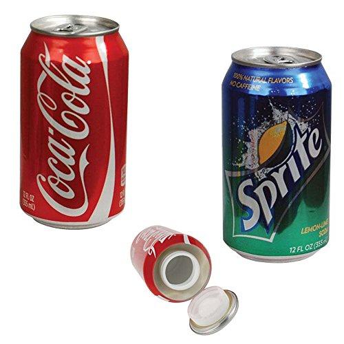 Coke Can/Sprite Can Fake Diversion Safe-*2 Total (Secret Soda Can compare prices)